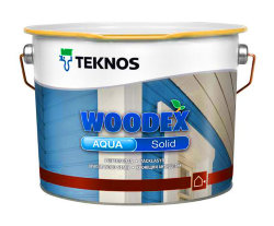 Teknos Woodex Aqua Solid кроющий антисептик для дерева 9 л