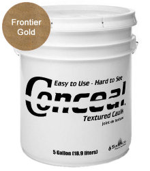 Sashco Conceal Textured Caulk герметик для дерева 18.9 л цвет Frontier Gold