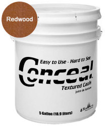 Sashco Conceal Textured Caulk герметик для дерева 18.9 л цвет Redwood