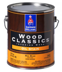Пропитка для дерева белая Sherwin Williams Wood Classics Interior Oil Stain Pickled White (Шервин Вильямс)