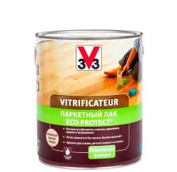 v33 Vitrificateur ECO Protect паркетный лак 5 л
